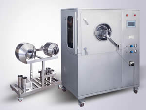 High Efficiency Laboratory Tablet Coating Machine